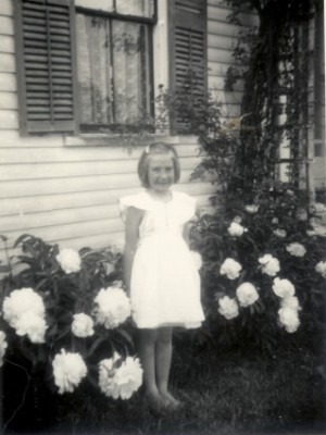 Author Joyce Ray as a young girl